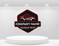 Custom Car Company Logo