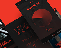 UCCA App Concept