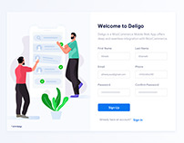 Sign Up - Daily UI (UIchallenge) #001