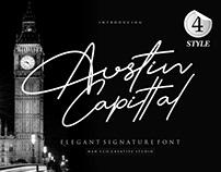 Austin Capittal Font Branding