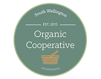 Organic Co-op Logo design.