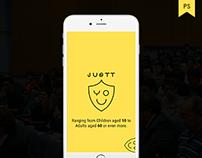 Justtyou - App Design