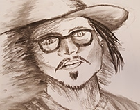 Portret, Johnny Depp