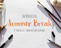 Summer Break Script Font