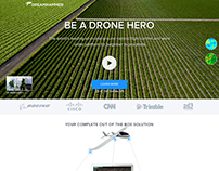 Commercial Drone Landing Page Simple