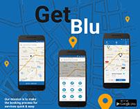 Redesign of GetBlu App