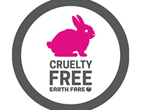 Cruelty Free Logo for Earth Fare