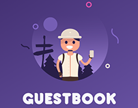Guestbook - App design