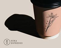 SUKA espresso - rebranding project