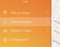 Kangou App Design