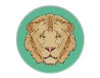 Lion I Illustration