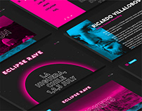 Eclipse rave 2019, website and ux