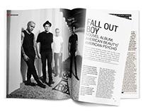 Page Layout / Music magazine