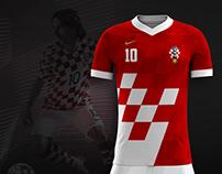 Croatian Football Jersey Concept