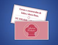 Cartão de Visitas  - Andrea Follador