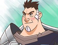 Character Design - Human Warrior