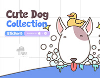 Cute Dog Collection - Stickers