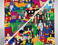 Super Cubist - DC + MARVEL