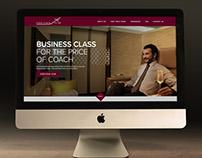 Website Design proposal for First Class Flyer