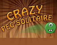 Crazy Peg Solitaire