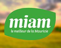Miam - Identité visuelle