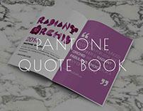 Pantone Quote Book