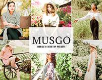 Free Musgo Mobile & Desktop Lightroom Presets