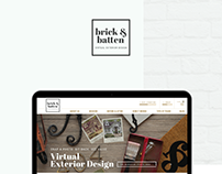 brick&batten website redesign