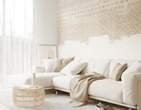 Warm interior project