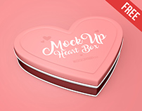 Heart Box – Free PSD Mockup