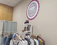 Logotipo 'Pop Shoes' Golegã - 2016
