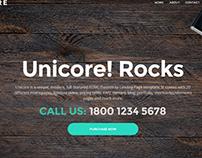 Unicore Landing Page Builder