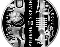 """""""Олімпйські ігри XXXII, Токіо"""", монета НБУ"""