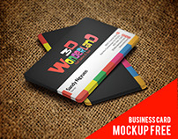 Free business card Mock-up