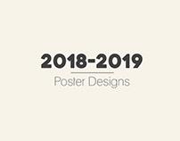 2018-2019 POSTER DESIGNS