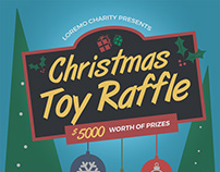 christmas raffle poster templates - accounting and bookkeeping services flyers on behance