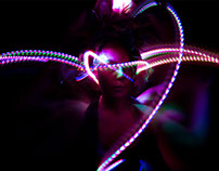 Cierra Potts Light Graffiti Dancing