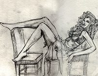 Recent Sketches - Figure drawing