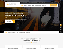 24/7 Express Logistics Services WordPress Theme