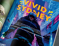 Vivid Sydney Lonely Planet Print Ad