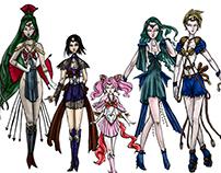 Mikey Espinosa - Sailor Moon - Inner Senshi