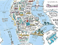 New York Magazine, Holiday Maps