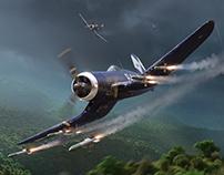 Okinawa Corsairs - Aerojournal Magazine cover