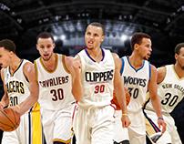 Steph Curry All NBA teams Part 1