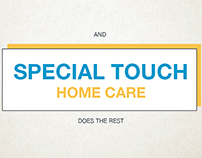 Special Touch Care for Old People