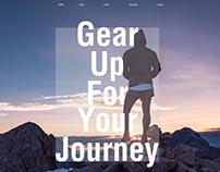 GearUp UI/UX webdesign