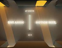 Dwi Anom / Motion Reel 2019