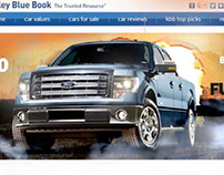 Ford F-150 Homepage Takeover