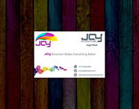 Joy International Visiting Card
