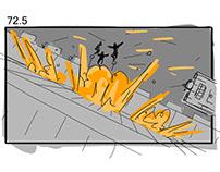 FILM - Shark Killer Storyboards